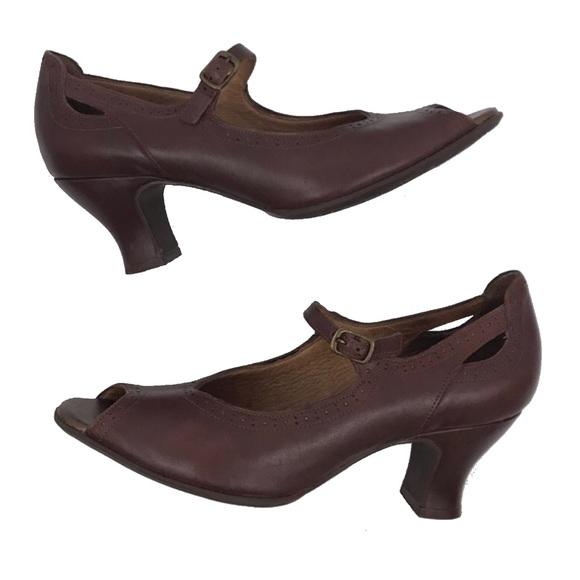 cc08c799eb0 Clarks Shoes - Clarks Artisan open toe Mary Jane style heels